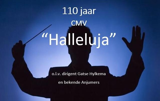 Jubileumconcert Halleluja 3 november in de Dobbe