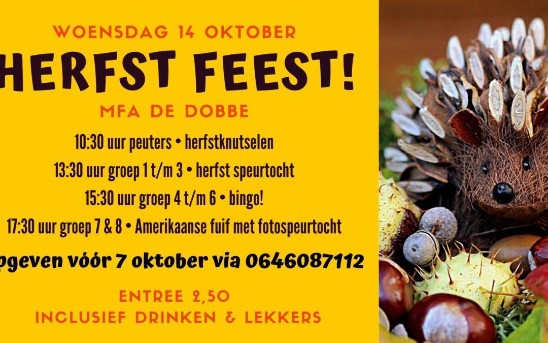 14 oktober Herfst feest in de Dobbe